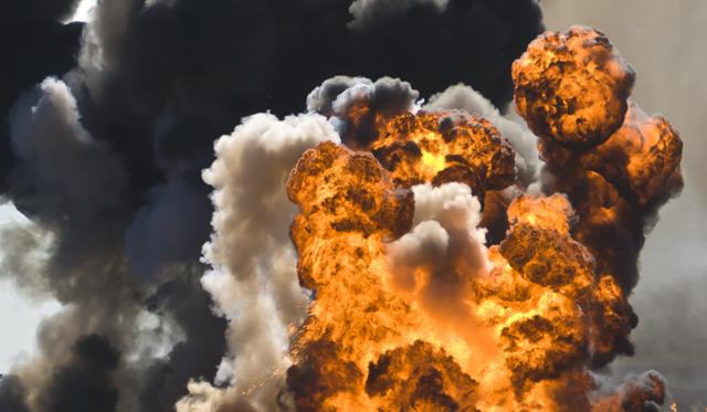 muertos por explosion